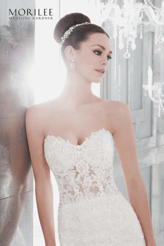 9531372dec 5572/Marni az Eklektika eskuvoi ruhaszalon 2019 évi Morilee kollekciójából  A kepen a menyasszonyi ruha