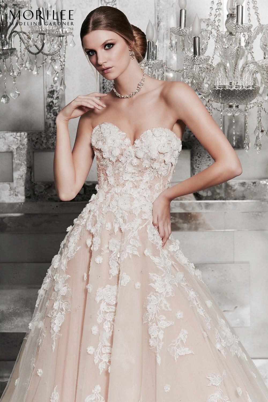 e82b6642bf Meadow esküvői ruha   Style: 8171   Morilee 2019   Eklektika szalon