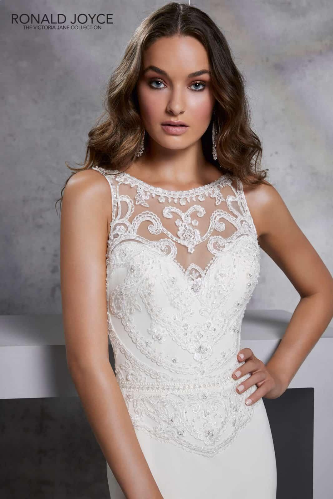 71d240747e Idris esküvői ruha   Style: 18306   Ronald Joyce 2020   Eklektika szalon