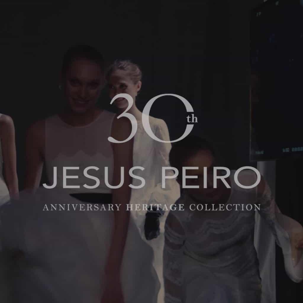 A Jesus Peiro eskuvoi ruha kollekcio backstage blogbejegyzesenek image fotoja