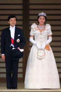 Kiralyi esküvői ruha sorozatunk keretében Masako hercegnő menyasszonyi ruhája