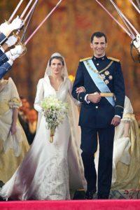 Királyi esküvők sorozat Letizia of Spain