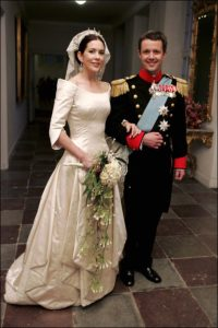 Királyi esküvők sorozat Mary Donaldson