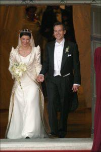 Királyi esküvők sorozat Princess Martha Louise
