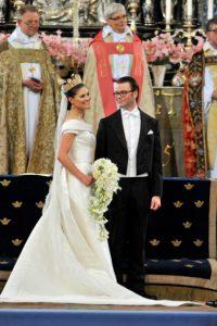 Királyi esküvők sorozat Princess Victoria férjével