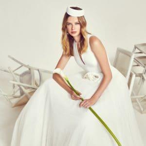 jesus-peiro-2020 évi esküvői ruha kollekciójának image fotója
