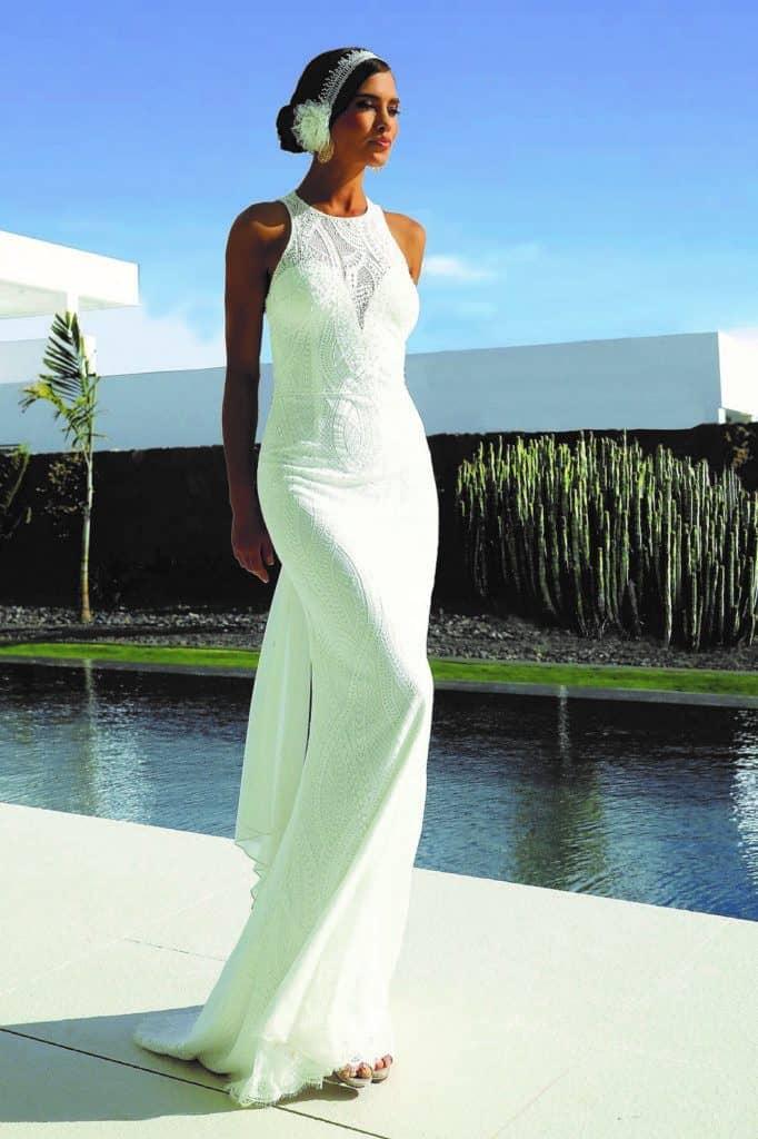 Linea Raffaelli 2020 évi esküvői ruha kollekciójának image fotója