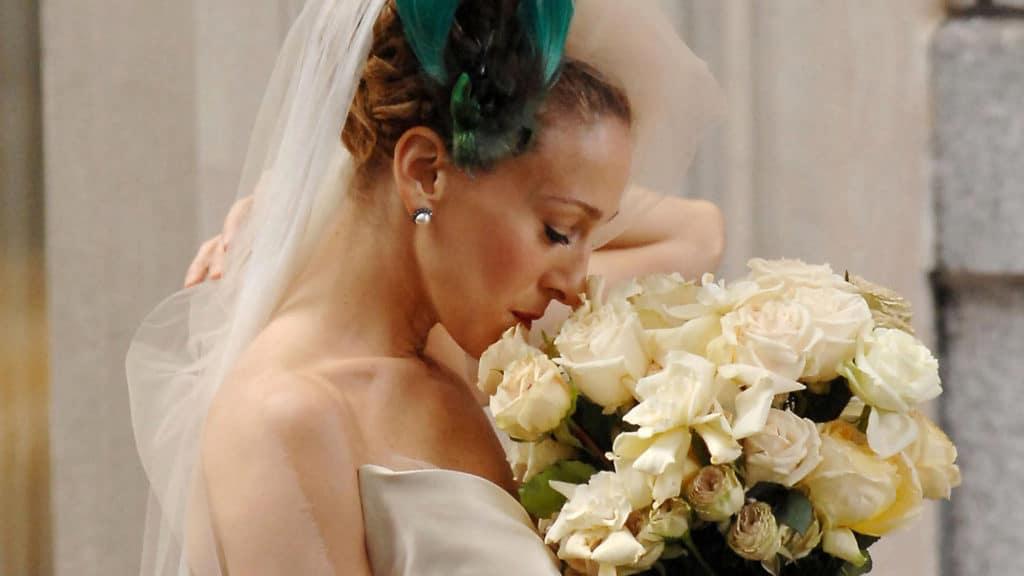 Carrie Bradshow esküvői ruhája