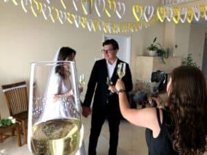 Online esküvői koronavírus idején
