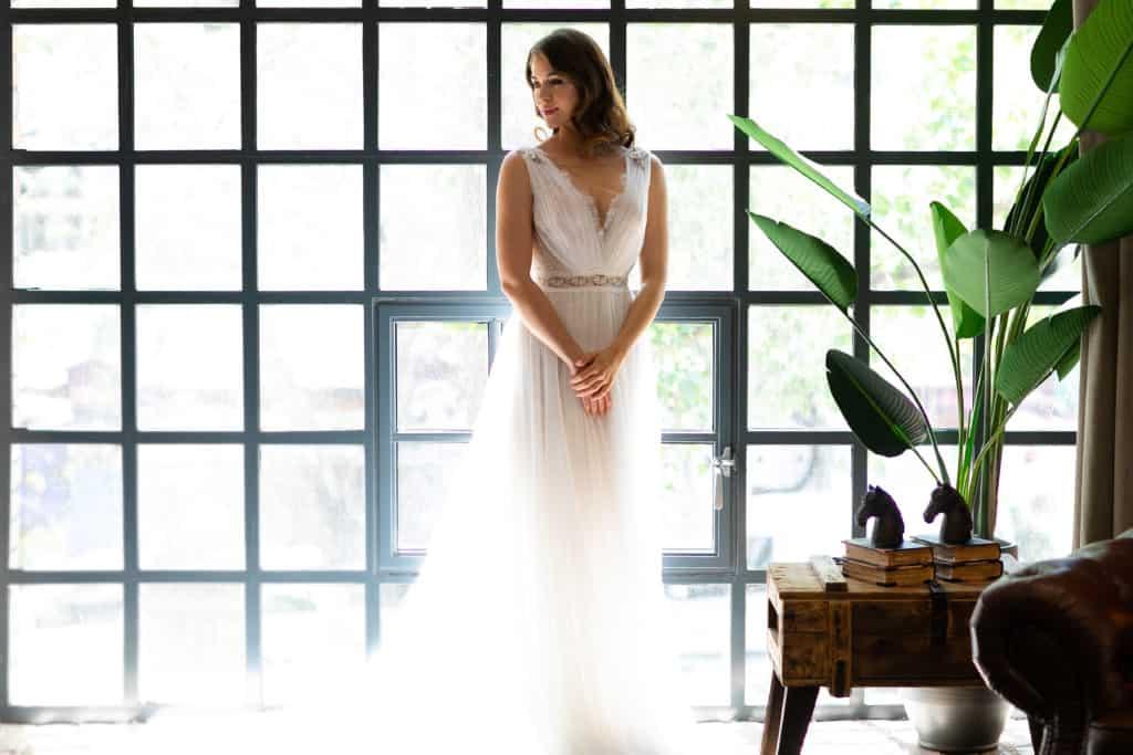 A spanyol Higar Novias divatház Manu Garcia esküvői ruha kollekciójáról szóló írás kezdőfotója